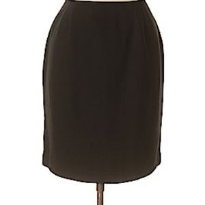 NWOT Jennifer Moore Leather/Suede skirt